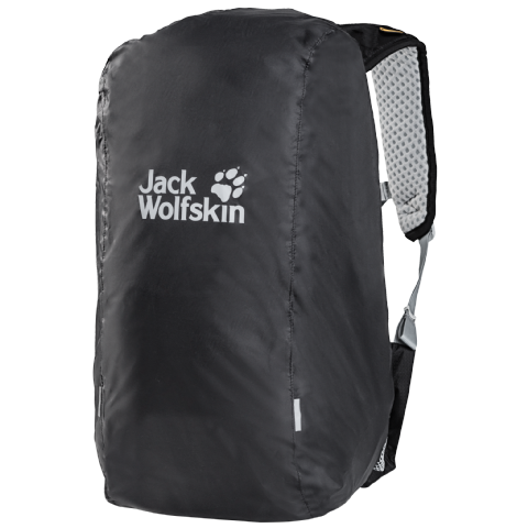 Jack Wolfskin Unisex Waterproof Raincover - From 20-60 Litres - Phantom